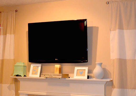 How High to Mount a TV on the Wall in Your Bedroom  Hunker