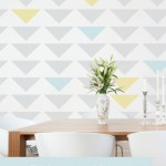 how to incorporate triangles into your decor
