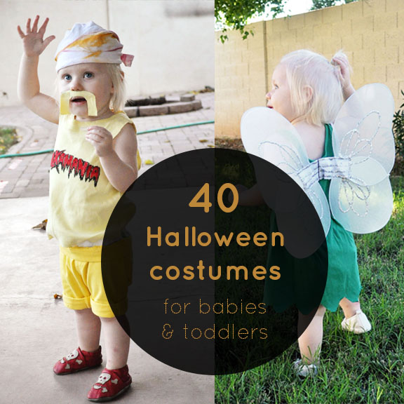 40 Halloween Costume Ideas for Babies and Toddlers via Tipsaholic