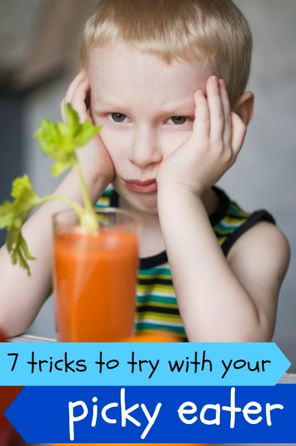 7 Tricks For Dealing With A Picky Eater via Tipsaholic.com