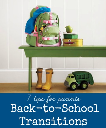Tips for Parents | Make the Back-to-School Transition Easier via Tipsaholic.com #backtoschool #kids #simplify #tips