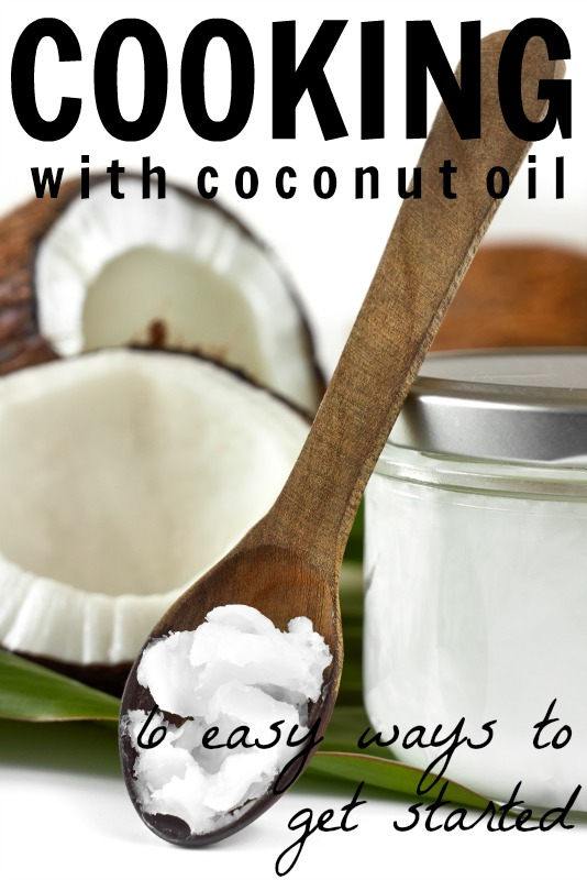 Cooking With Coconut Oil via Tipsaholic.com #coconutoil #healthy #cooking