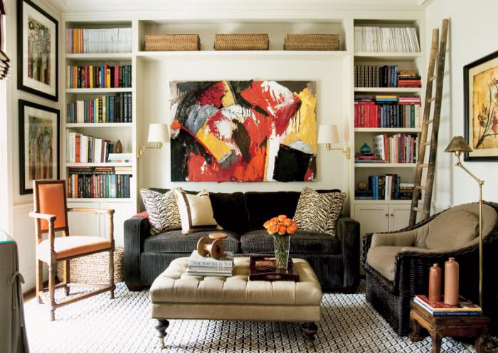 Get this look living room built in shelves for Built ins living room ideas