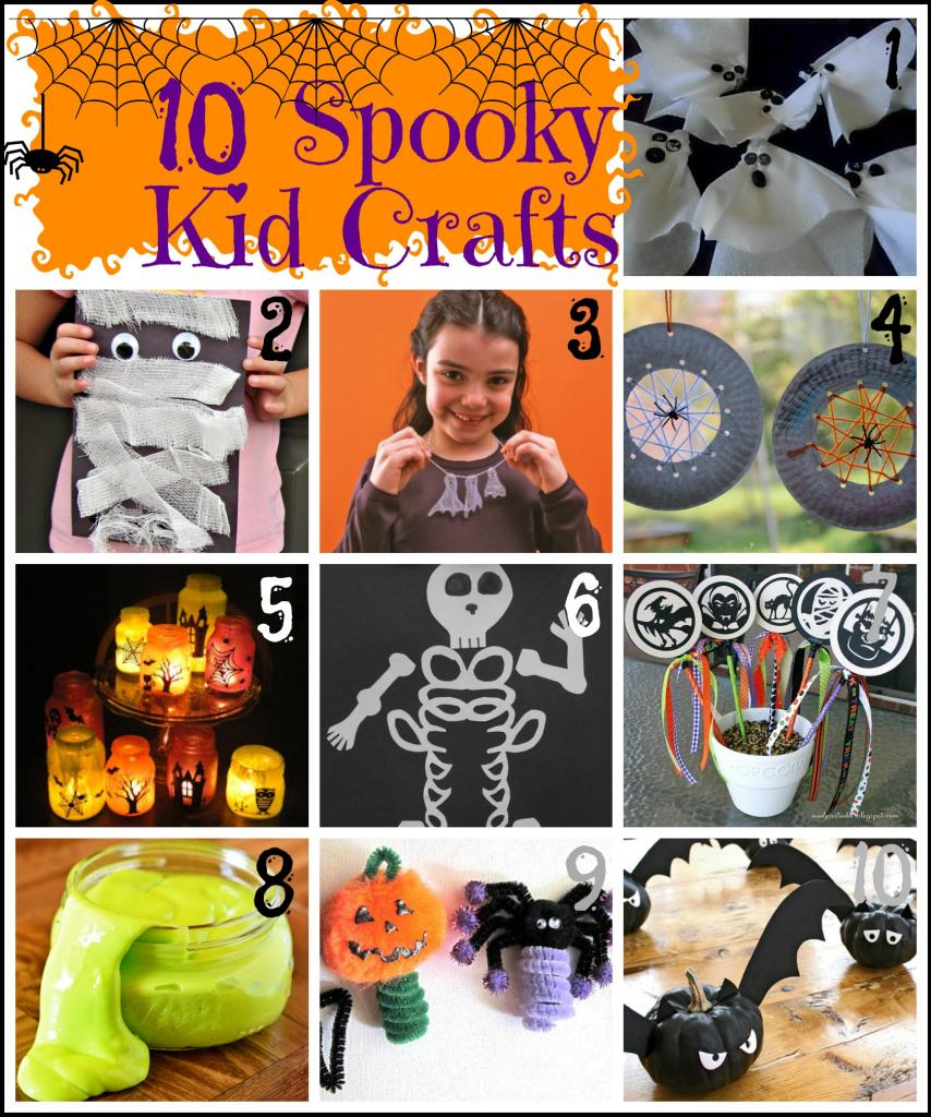 halloween school craft ideas remodelaholic 10 spooky kid crafts for 4622