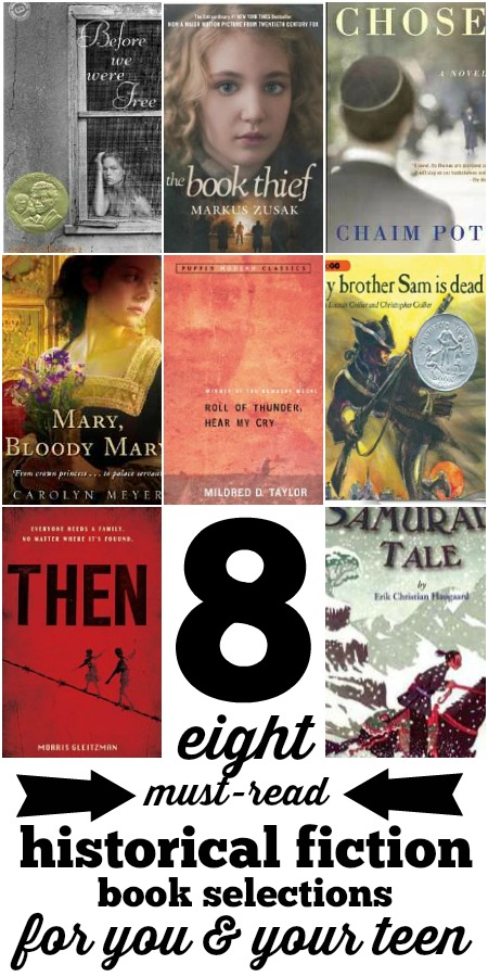 Historical Fiction for Teen Readers and Parents via Tipsaholic