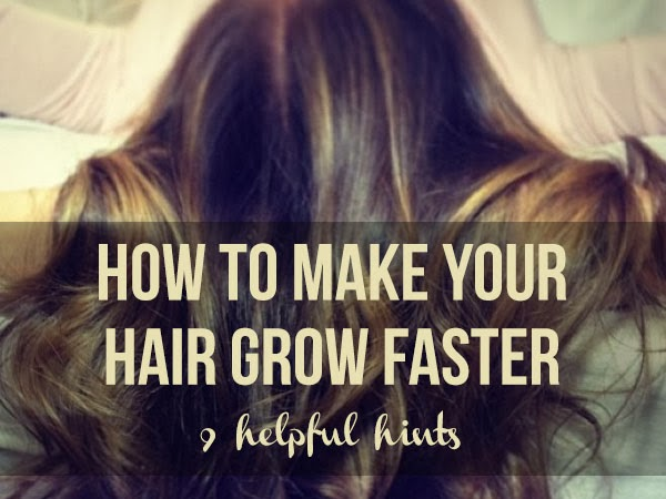 How to make your hair grow faster via Tipsaholic