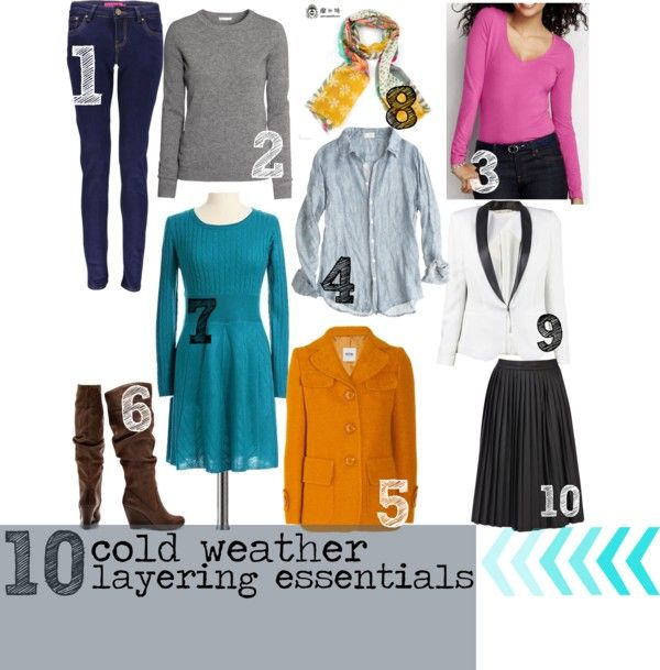 10 Cold Weather Layering Essentials - Tipsaholic.com