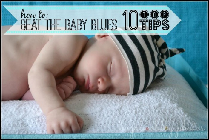 Tips for Beating the Baby Blues via Tipsaholic