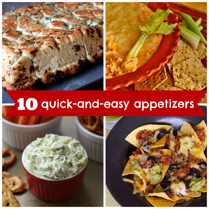 10 Quick-and-Easy Appetizer Recipes for March Madness - Tipsaholic.com
