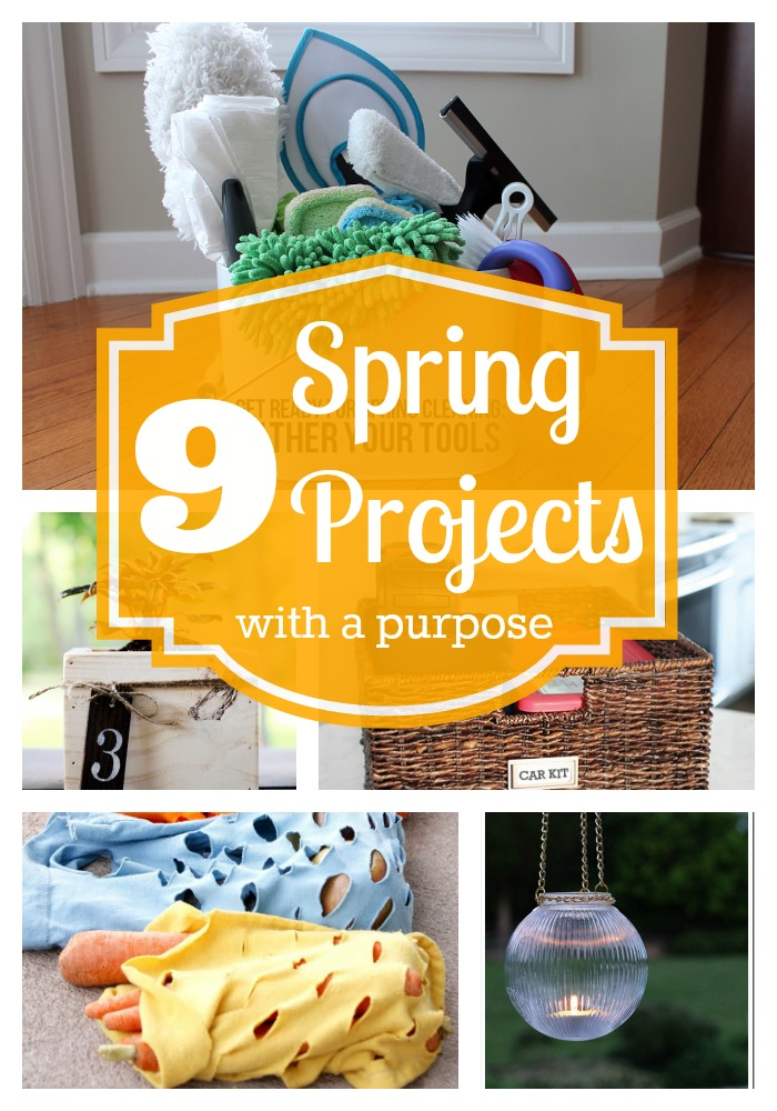 9 Great Spring Projects with a Purpose - Tipsaholic.com