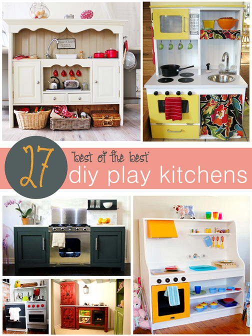 The best of the best in diy play kitchens