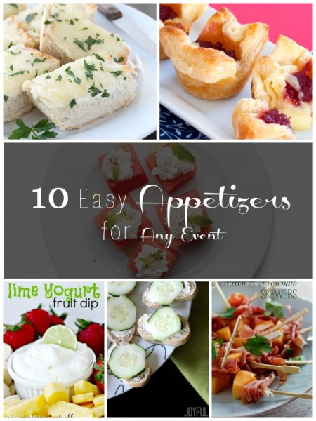 10 Easy Appetizers for Any Event | Tipsaholic.com #food #recipe #entertaining #appetizer