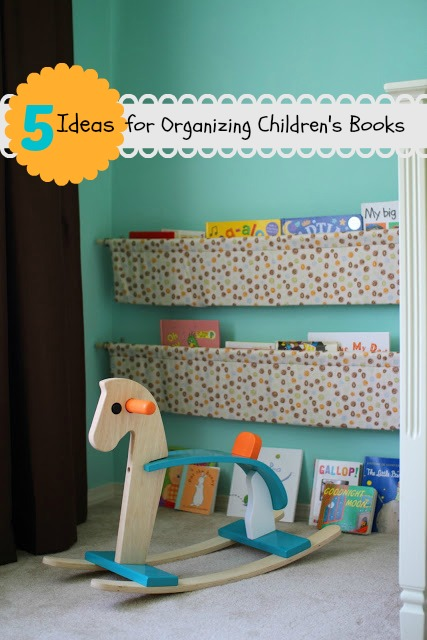 5 Ideas For Organizing Children S Books Tipsaholic Reading Storage