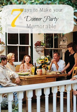 7 Ways to Make Your Dinner Party Memorable | Tipsaholic.com #entertaining #recipe #cooking