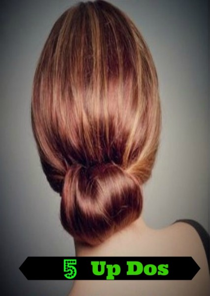 Need some new hair ideas? Try one of these 5 fun updos. Find them at @tipsaholic #hair #hairstyles #updos