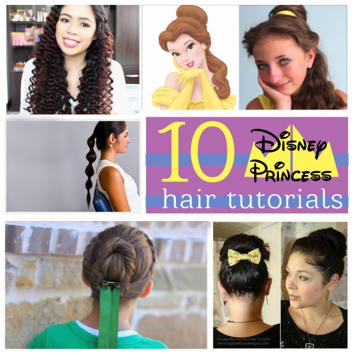 10 Disney Princess Hairstyles - tipsaholic, #hairdos, #disney, #princess, #hair