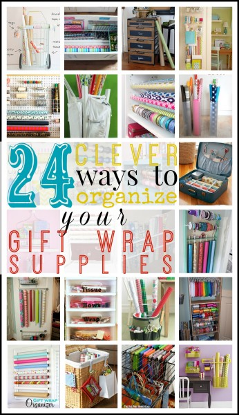 gift wrap collage