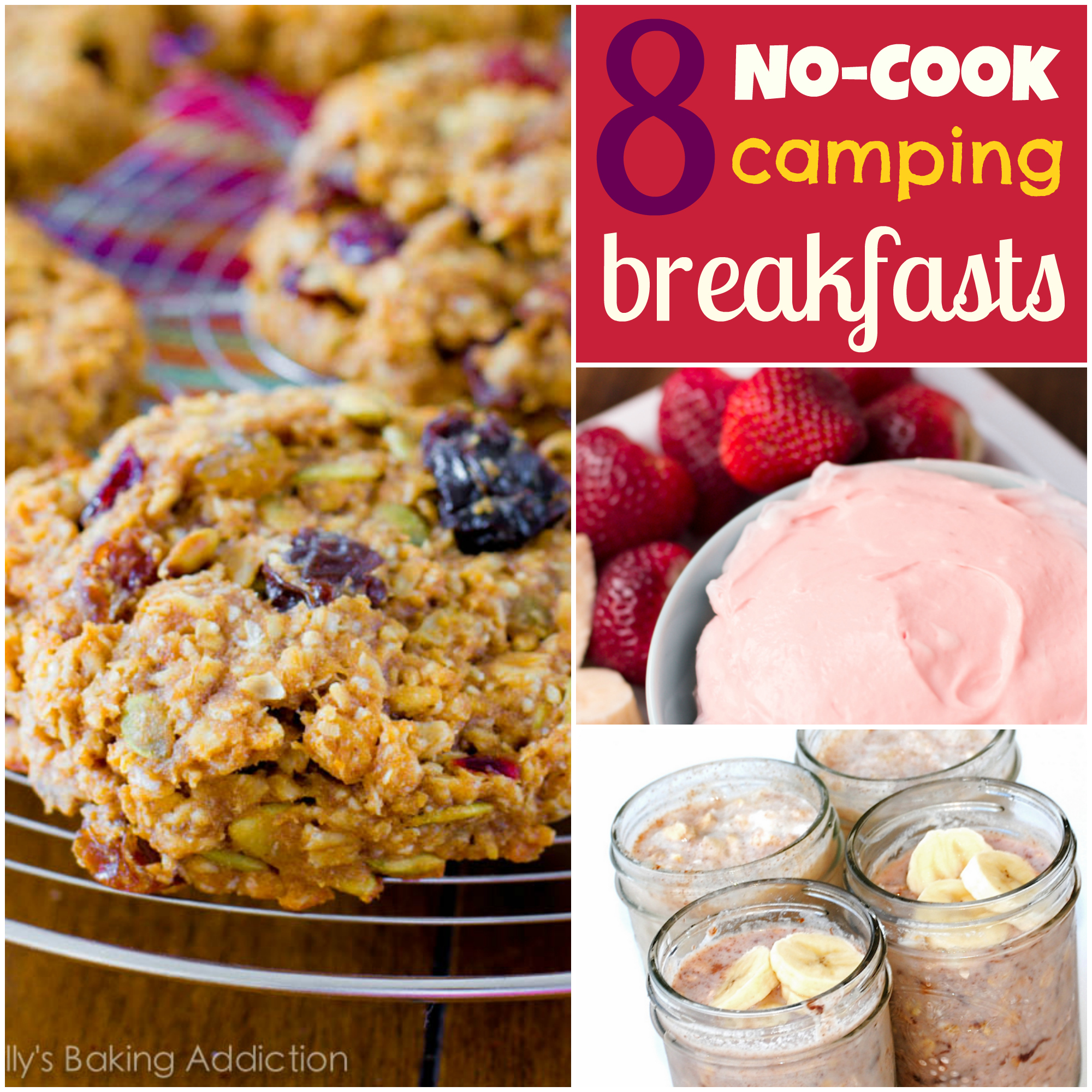 remodelaholic | 8 ideas for no-cook camping breakfasts