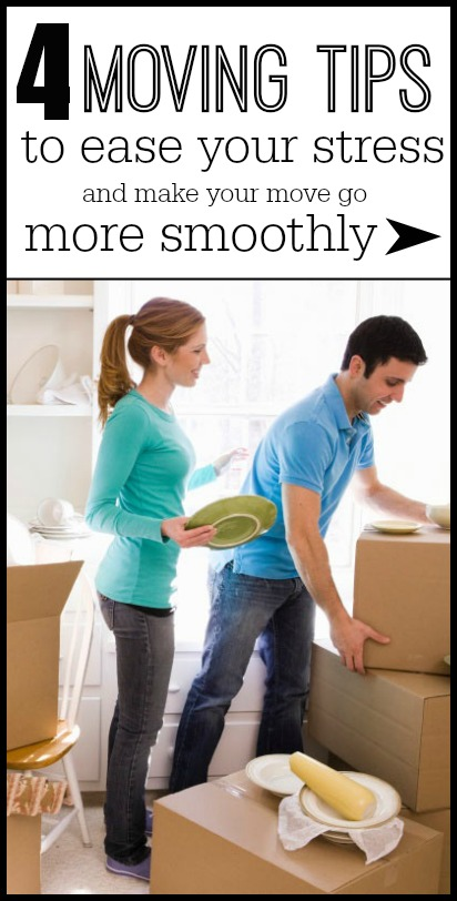 4 Moving Tips to Ease Your Stress | Tipsaholic.com #home #moving #packing #tips #diy