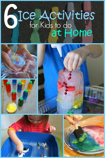 6 Ice Activities for Kids to do at Home | Tipsaholic.com #games #activities #kids #ice #summer