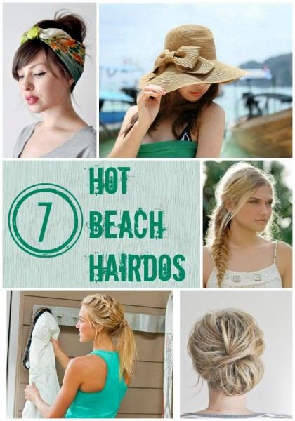 7 Hot Beach Hairdos | Tipsaholic.com #hairstyles #braids #beach #hair #hat