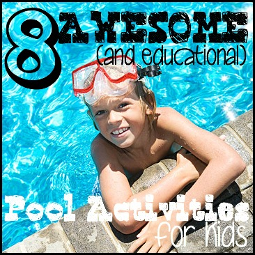 8 awesome pool activities for kids - tipsaholic.  #poolactivities, #pool, #summer,