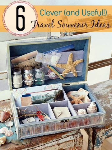 6 Clever (and Useful!) Travel Souvenir Ideas