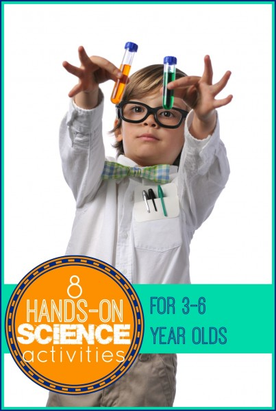 8 Hands-On Science Activities for 3-6 Year Olds - tipsaholic, #scienceactivities, #scienceexperiments, #scienceforkids, #kids, #science