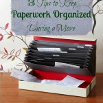 3 Tips to keep paperwork organized during a move - Tipsaholic.org