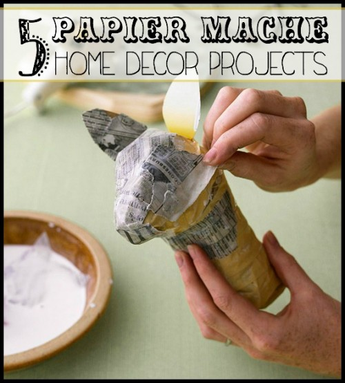 5 kid-friendly papier mache projects to decorate with - tipsajolic, #papiermache, #crafts, #kids #decor, #DIY