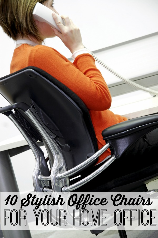 Working from home can be hard at times, but the fun part is you can decorate your office! There are so many options for beautifying an office. Like these 10 stylish office chairs for your home office via @tipsaholic #office #homeoffice #officechairs #chair #chairs