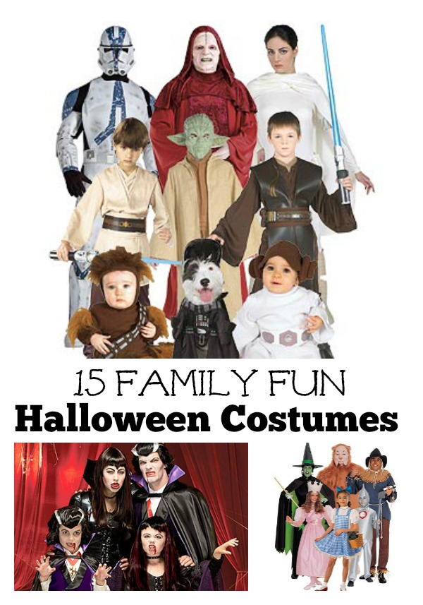 Make Halloween a family affair this year. Dress up in a group themed costume. Check out these great ideas from tipsaholic.com. 15 Family Fun Halloween Costumes. #halloween #costumes #costume