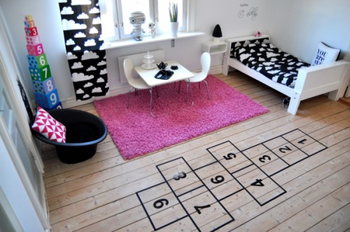 hopscotch playroom ideas