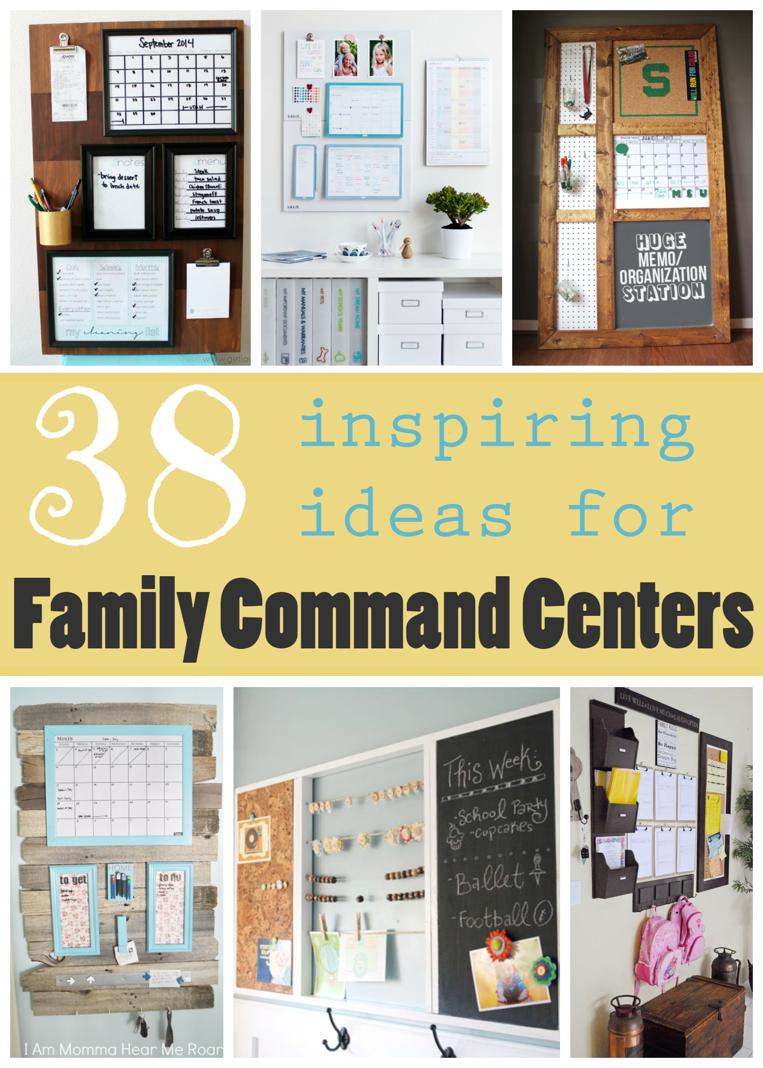 Remodelaholic | 38 Inspiring Ideas for Family Command Centers
