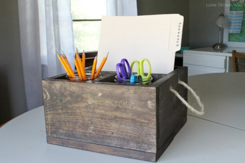 tipsaholic-rustic-wood-homework-caddy-love-grows-wild