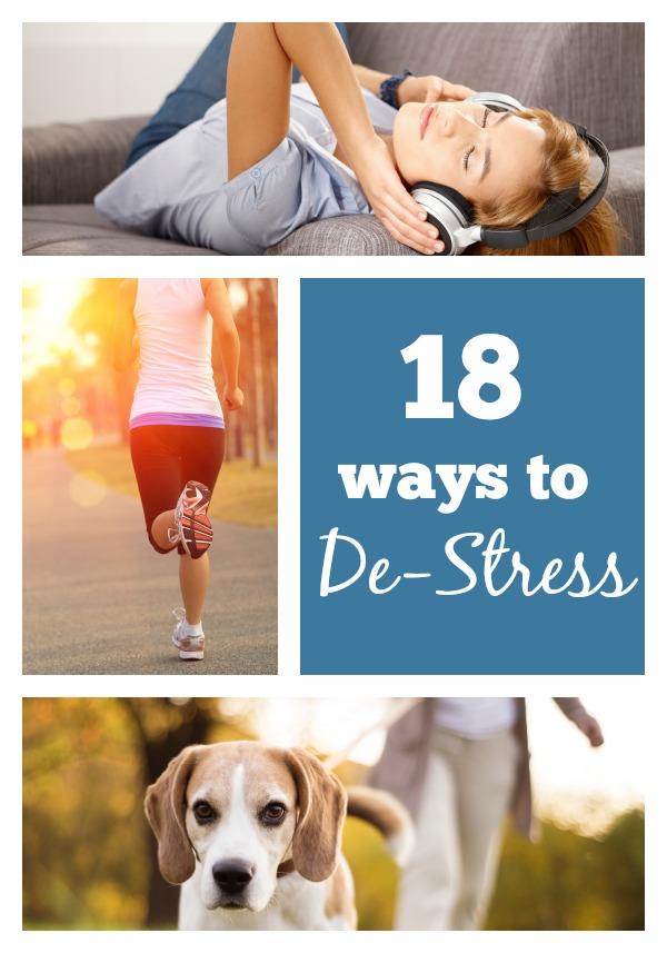 Stress is often seen as a negative effect on the body, but it is very essential to life. Avoid it taking over your life. Try one of these 18 ways to de-stress your life via tipsaholic.com #stress #destress #stressrelief