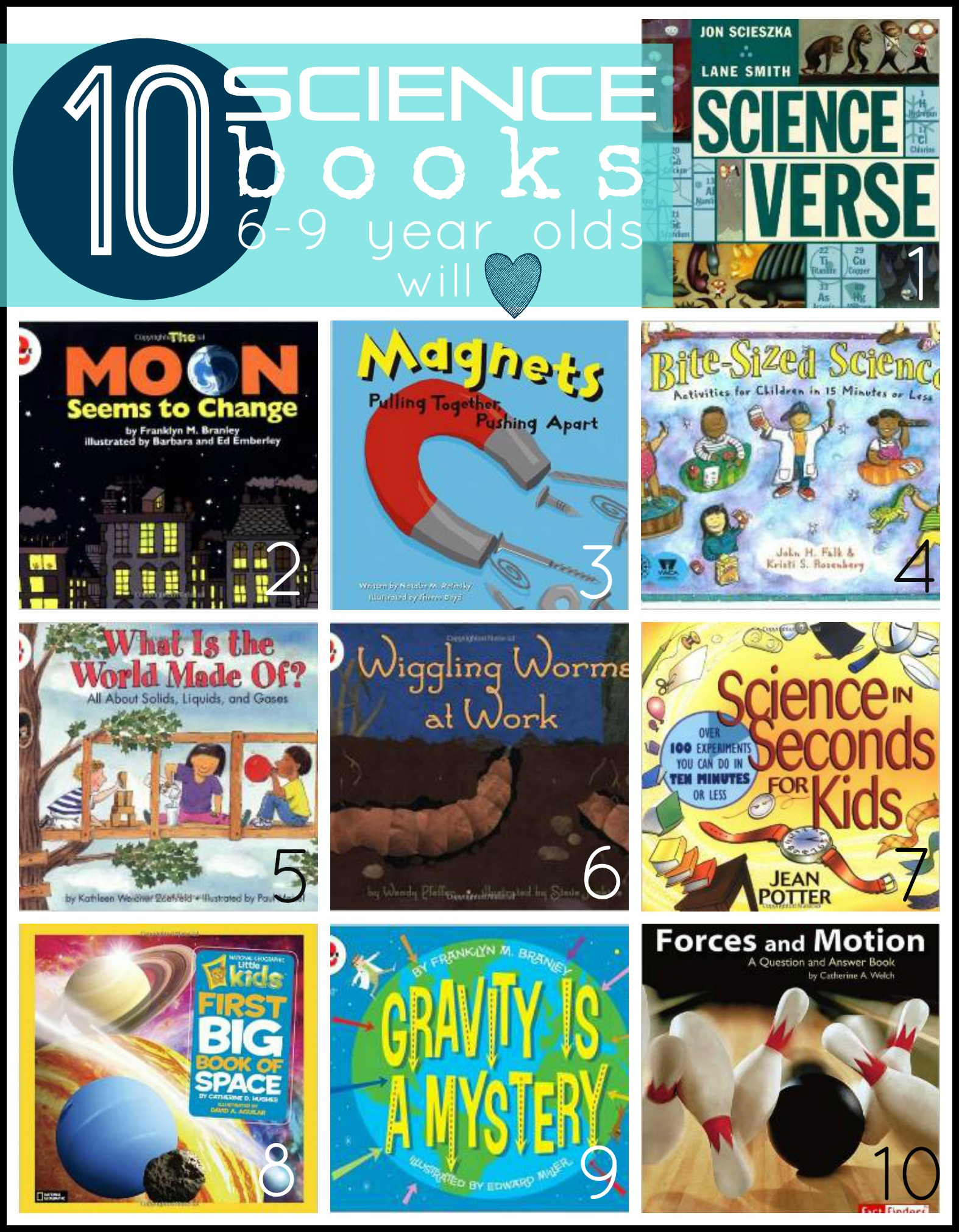 10 Science Books 6 9 Year Olds Will Love Tipsaholic