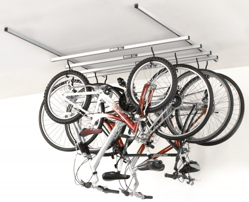 ceiling mount bike rack