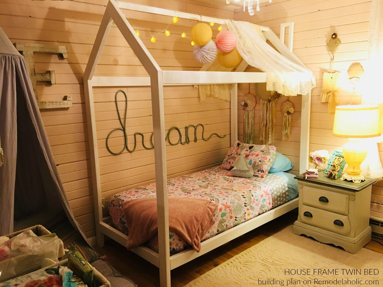 Diy Kids Twin Bed Frame Novocom Top