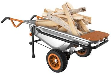 mulltipurpose wheelbarrow