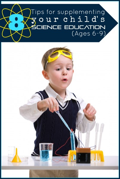 You can reinforce your child's education at home with little effort! Here are 8 tips for supplementing your child's science education to get you started. 8 Tips for Supplementing Your Child's Science Education - Tipsaholic, #science, #education, #kids, #school