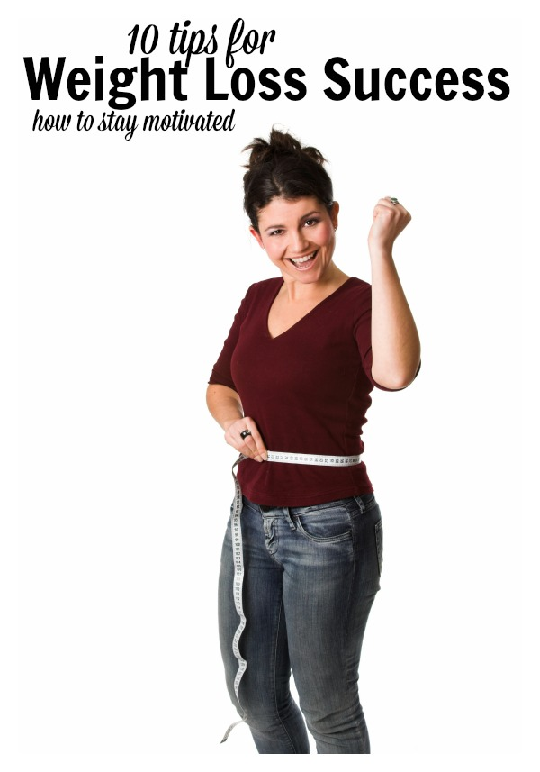 10 Tips for Weight Loss Success at tipsaholic.com