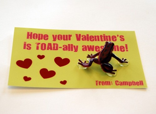 Sometimes there can be too much candy on Valentine's Day. Avoid too much sugar by gifting one of these 30 Clever Food-Free Valentines for Kids - tipsaholic, #valentines, #valentinesday, #valentine