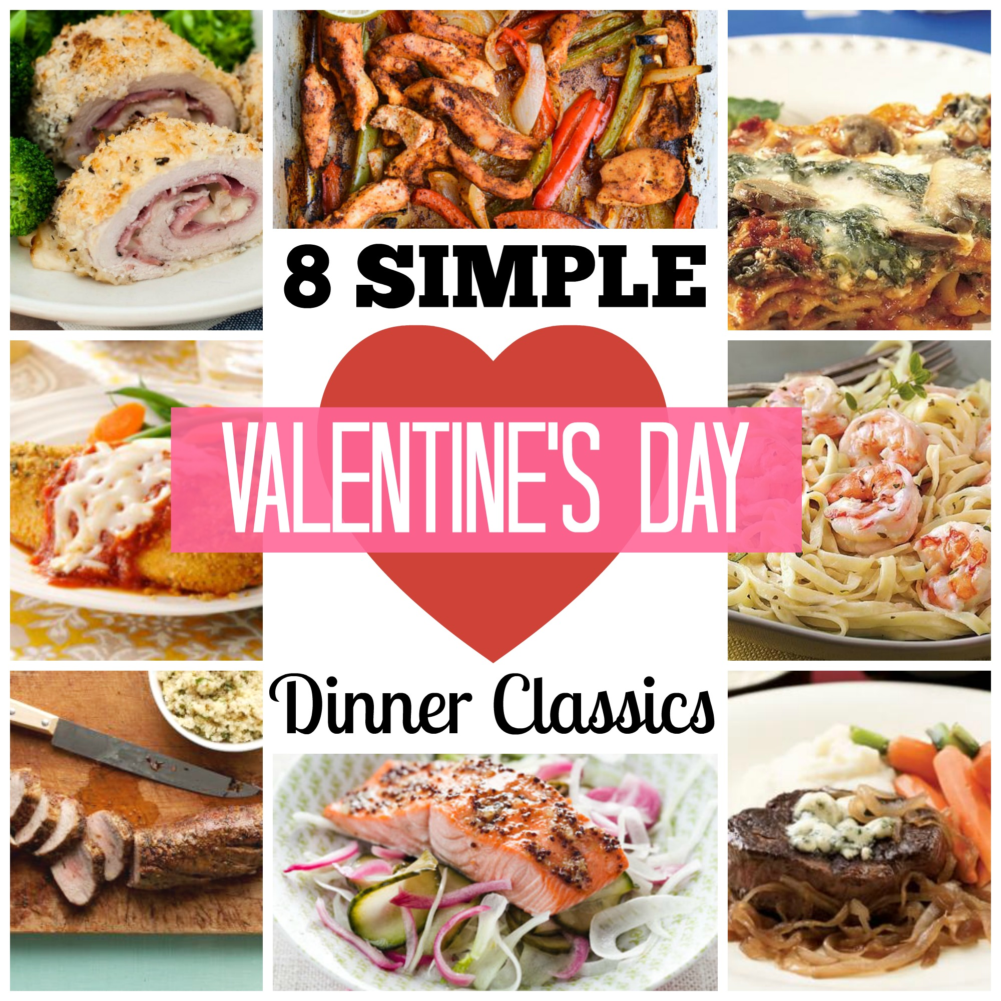 remodelaholic 8 simple valentine s day dinner classics