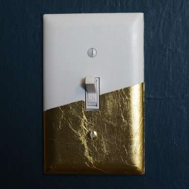 Remodelaholic 25 Awesome Gold Leaf Diy Projects