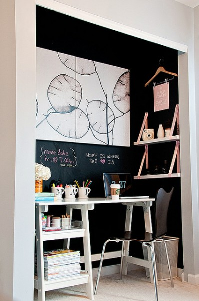 office in closet ideas. No Space For An Office? How About Building Office Closet? Here Are 10 In Closet Ideas