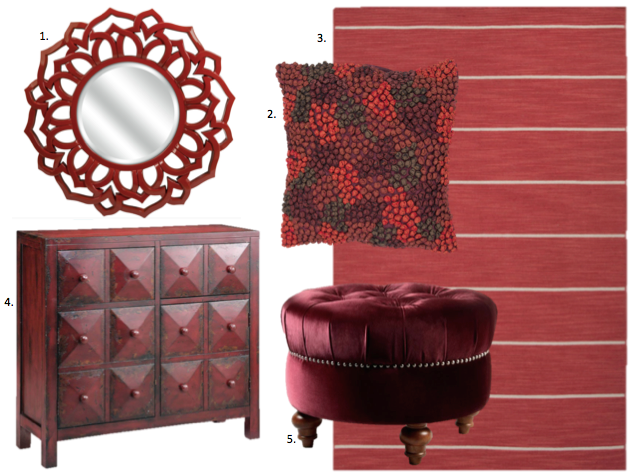 Love the new spicy color of the year, marvelous marsala? Here are lots of great ideas to add the color into your home decor. How to decorate with Marsala at tipsaholic.com #marvelousmarsala #marsala #coloroftheyear #pantone #decorate #decor