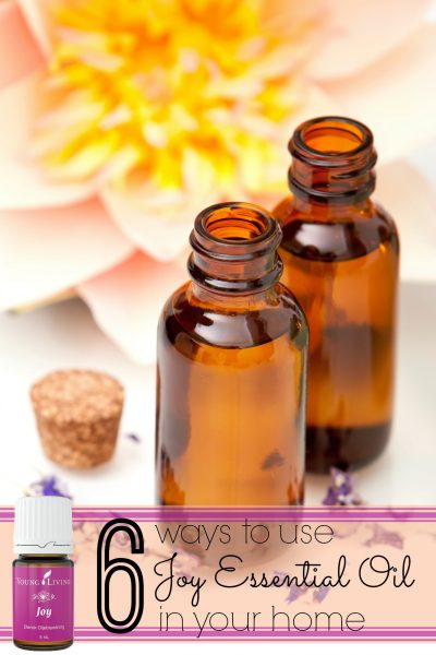 6 ways to use joy essential oil in your home - tipsaholic