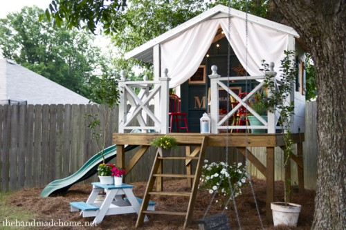 Backyard Equipment remodelaholic | 7 diy outdoor play equipment ideas for your backyard
