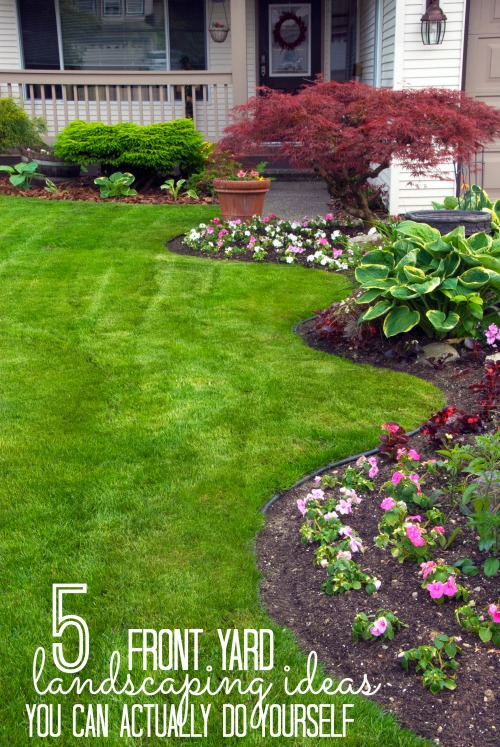 Beautiful Do It Yourself Landscaping Ideas Front Yard Part - 11: Increase Your Curb Appeal With These Landscaping DIY Projects! These 5 Front  Yard Landscaping Ideas